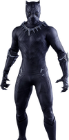 Black Panther - Transparent by Asthonx1