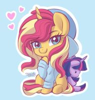 My little Sunset by DarlingDress