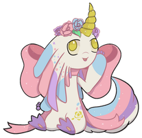 MMCrystal 013 - Unicorn Cake [AUCTION- CLOSED] by KineticSoulz