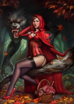 Red Riding Hood by yigitkoroglu