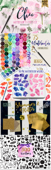 Watercolor Textures by Photohacklovers