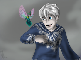 Jack Frost and Babytooth by Maygirl96
