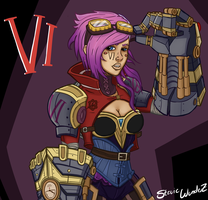 Vi stands for...Vi by StevieWunderz