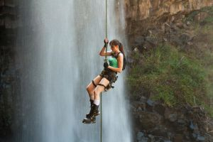 Tomb Raider - Abseil by ShonaAdventures