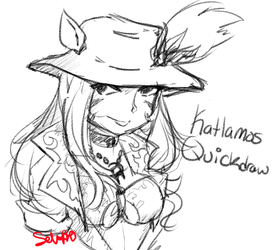 FFXIV Sketch - Katlamos Quickdraw by Selaphi