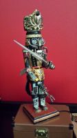 Steampunk Nutcracker: Jedi Soldier by pinochioO-5