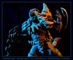 Commission : Headhunter Rengar, Battle Cry by emilySculpts