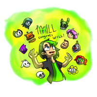 DAGames- CONGRATS ON 1 MILLION SUBS WILL! by NickJellyNinja