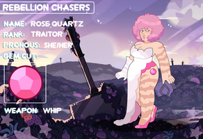 (Rebellion Chasers) Rose Quartz by FlareViper