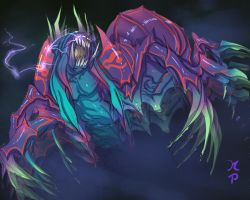 Dota Nerubian Weaver  Color by ManiacPaint