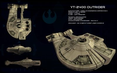YT-2400 Outrider ortho by unusualsuspex