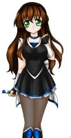 .:Blue Rose:. by Hero-of-Awesome