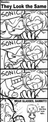Sonic They Look the Same by nyu