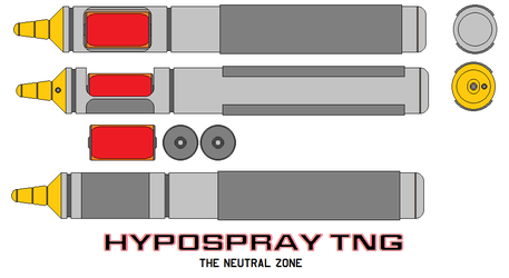 Hypospray Tng The Neutral Zone by bagera3005