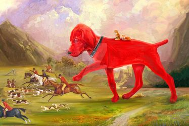 Clifford Saves The Day: No more fox hunts by brettbennett