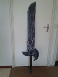 Large demonic sword by Oloring