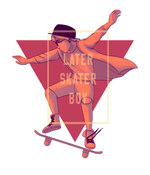 Effigy - Later Skater Boy by nautical-anchors