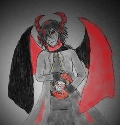 Ivlis : with child (color version) by AmetrineAngel