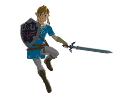 BOTW Link Render by Vex2001
