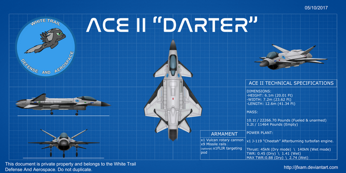 (WTDA) ACE II Darter by JFXAM
