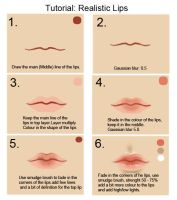 Tutorial: Lips by cgart4u
