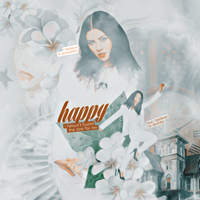 Happy. / Blend by xPEGASVS