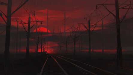 Railway Inferno IV by Dae-K