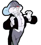 Bugs Bunny as Leopold Stokowski by 15willywonka