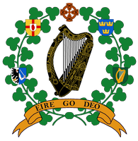 Ireland greater state emblem proposal by Samogost