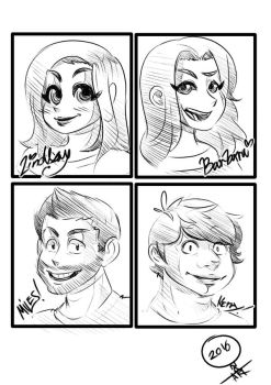 Rooster teeth people by ONATaRT