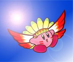 Wing Kirby by pikmin789