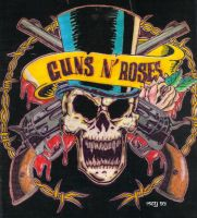 Guns and Roses by Arianrhod-Athdel