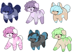 puppy adopts - closed (6/6) by assrieI