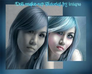 DOLL MAKE UP TUTORIAL by intano-stock