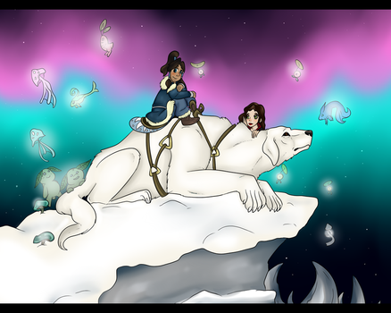 Korrasami Collab: Kindred Spirits by FireNationPhoenix