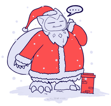 Snorlaxclaus For Tim by Mister-Saturn