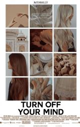 Turn Off Your Mind||Wattpad Cover|| by DaisyChan55