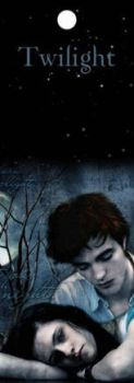 Bella And Edward Bookmark by New-Moon-Club