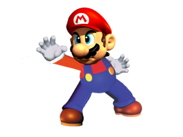 SSBB Mario (N64 Version) by Waltman13