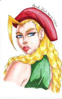 The Portrait of Cammy White by BetaoftheBass