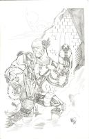 CABLE pencil by drawhard