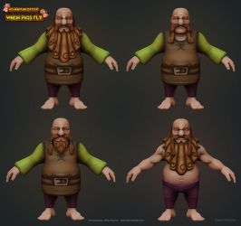 Dwarf Variants by raffael