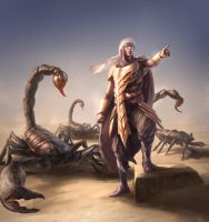 Scorpion Charmer by SirenD