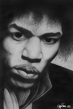 HENDRIX by Spuddicus