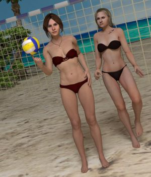 Volleyball, Anyone? by jc-starstorm
