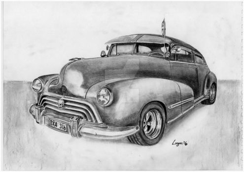 '48 Olds refined by Darstrom