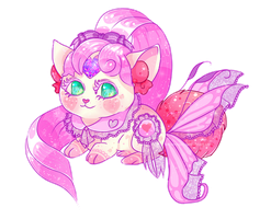 [CLOSED] Fairy Kei Sparkle Bunny by Ethlenrain
