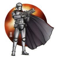 Captain Phasma by Erik-Maell