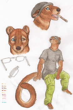 Fossa Boy by Zaphkiellane