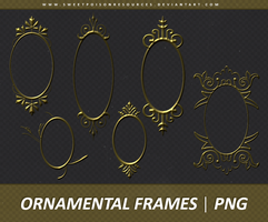 Ornamental Frames | PNG by sweetpoisonresources